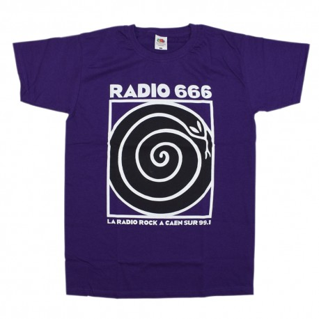 Tshirt classique violet 2020